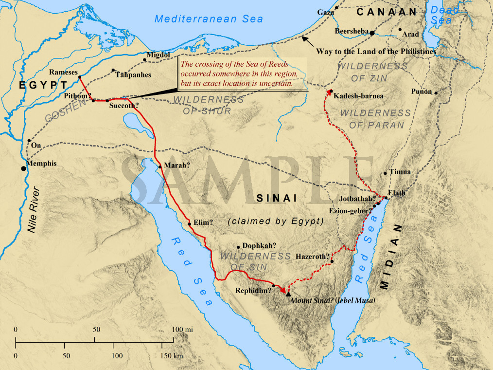 Bible Mapper Gallery Of Maps - Map of egypt hd